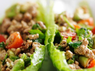 an image of lettuce wraps.
