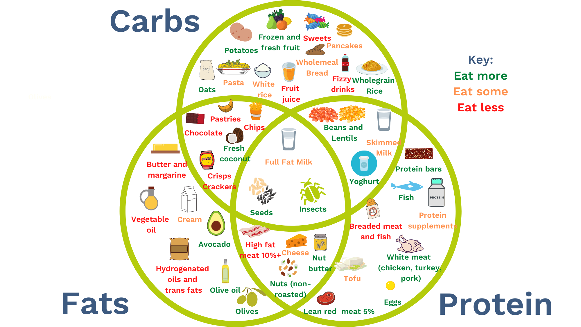 image of carbs fats and protein